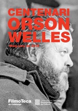 A la Filmoteca commemorem el centenari del naixement d'Orson Welles