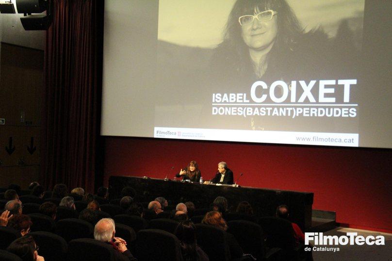 Isabel Coixet a la Filmoteca de Catalunya, durant la presentació del cicle 'Dones (bastant) perdudes'