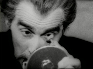 Christopher Lee a 'Vampir-Cuadecuc' (Pere Portabella, 1970)