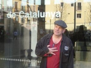 David Simon a la Filmoteca de Catalunya.